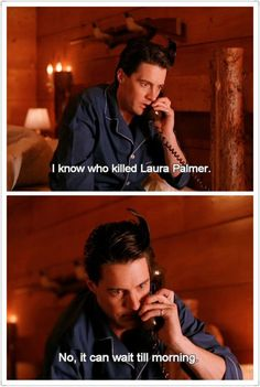 I know who killed Laura Palmer Twin Peaks 1990, David Lynch Twin Peaks, David Lynch Movies, Pretty Songs, Kyle Maclachlan, Laura Palmer, Between Two Worlds, Film Inspiration, Best Tv