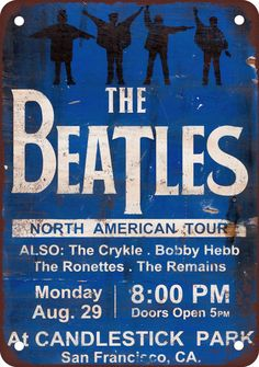 1966 Beatles at Candlestick Park-Last concert before a paying audience