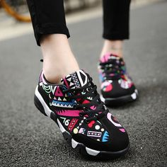 Různé barvy Sportovní obuv Dámské Cool Dámské Atletické tenisky Značka  Designer Chůze Topánky Dámské Běžecké boty d17ea91737