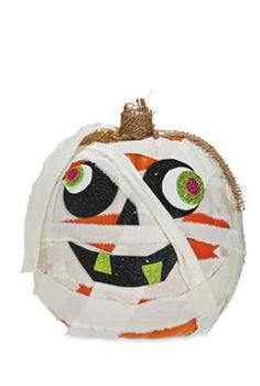 Craft Pumpkin Mummy
