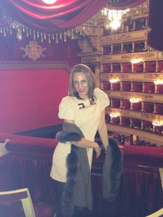 Elisabetta Franchi Dress - Teatro della Scala Milano
