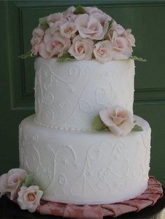 Garden Party  Cake by JoyandCake