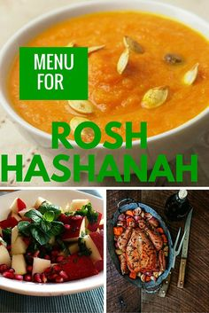 Your Rosh Hashanah Menu Is All Planned A complete menu for Rosh Hashana and a Giveaway! Win a Winn -Dixie gift bag and a signed Joy of Kosher cookbook by Jamie Geller. Your Rosh Hashanah Menu Is All Planned Kosher Recipes, Honey Recipes, Roshashana Recipes, Kosher Food, Dinner Recipes, Rosh Hashanah Menu, Coffee And Bagel, Vegetarian Side Dishes, Israeli Food