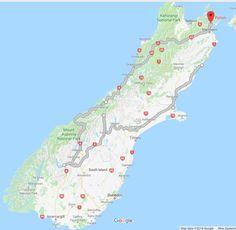 New Zealand South Island road trip #NewZealand #RoadTrip #SouthIsland
