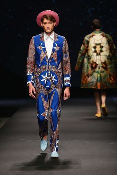 Dent De Man  Spring Summer 2016 Primavera Verano #Menswear #Trends #Tendencias #Moda Hombre - Constellation Africa For Pitti Uomo - D.P.