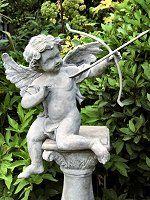Cupid Garden Statue