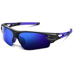 e3b25557f4 Gafas de Sol Polarizadas - BeaCooL Gafas de Sol Deportivas Unisex  Protección UV con Monturas Ligeras