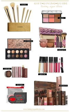 My favorite Sephora gift sets!  Lots of great makeup sets.