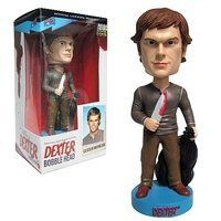 "Bif Bang Pow! Dexter Bobble Head Dexter Kill Outfit by Bif Bang Pow!. $14.49. Dexter (Kill Outfit) Bobble Head That's one killer outfit, Dexter. From Showtime's hit television series, this spectacular item spotlights the star of the show! A blood-splatter expert for the Miami Police Department by day, Dexter spends his nights murdering other serial killers. Now this so-called ""good guy"" is available in 7-inch bobble head form... and he's truly dressed to kill! Dexter's mad..."