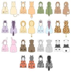 From Twig + Tale: There's a little bit of a wild spirit in all of us. Make their make-believe more real with this fun, yet practical vest that keeps them warm as they run wild. Sewing Toys, Sewing Crafts, Sewing Projects, Toothless Costume, Animal Tails, Sewing Stuffed Animals, Wild Spirit, Baby Vest, Toy Craft