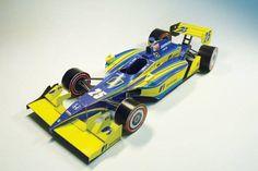 Indy Car 2010 Paper Car Free Vehicle Paper Model Download