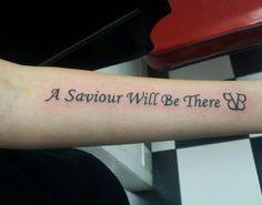 Black Veil Brides Savior Tattoo