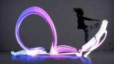 Japanese inventor Yuya Kikukawa creates Orphe LED dancing shoes