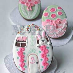 #Easter #eggs #bunnycookie #cookies #mylittlebakery