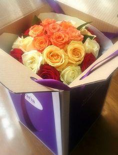 Mixed bouquet Rose Bouquet, Classic Beauty, Container, Bouquets, Roses, Food, Design, Bouquet Of Roses, Bouquet