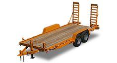 Skid Steer Trailers for Sale by Kaufman Trailers! Equipment Trailers For Sale, Loading Ramps, Lower Deck, Mini Excavator, Fencing, Metal Working, Trucks, Dreams, Steel