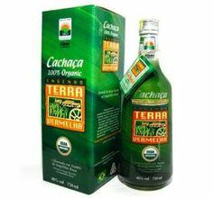 Cachaça Premium Orgânica TERRA VERMELHA - 670ml