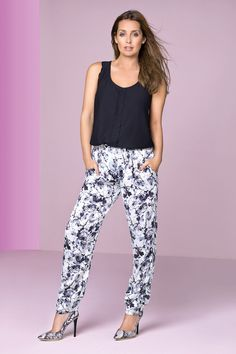 Print Trousers - Louise Redknapp For Petite - Petite - Womens Fashion - Wallis