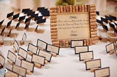 Wine Cork Place Card Holders- Wine Wedding, Vineyard Wedding, Escort Card Holders, Bridal Shower, Up Wedding Card Messages, Wedding Wishes, Wedding Cards, Diy Wedding, Wedding Favors, Wedding Decorations, Wedding Ideas, Trendy Wedding, Wedding Table Seating