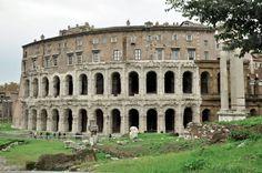 Teatro Marcello (photo Luca Semplicini) http://www.romeing.it/the-jewish-quarter-in-rome/