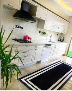 Çok Konuşulacak 44 Harika Mutfak Dolap Modelleri These Kitchen Cabinet Models Too Many Will Be Discussed Kitchen Cabinets Models, Kitchen Models, Modern Cafe, Luxury Homes, Home Accessories, Sweet Home, Decoration, Furniture, House