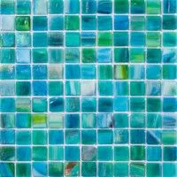 glass tile for bathroom.....I love this!!!!!!!!  So gonna do it!!!
