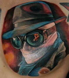 Wow! I loved The Invisible Man movie when I was kid. Awesome tattoo done by Reinkarnation. #tattoo #tattoos #ink