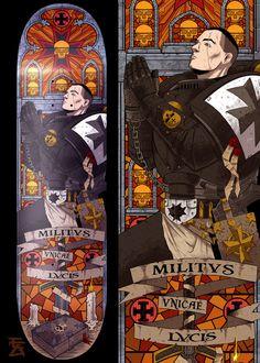 Black Templar SD by AveryTan on DeviantArt