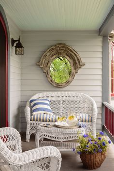 Down-Home Arkansas Porch