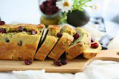 Avocado cranberry bread