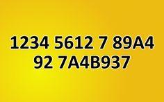 Can you decrypt hidden message (1234 5612 7 89A4 92 7A4B937)?