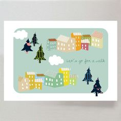 Let's Go for a Walk - large print £23.00