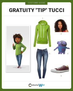 """Get into character as Gratuity """"Tip"""" Tucci with Boov alien Oh from the DreamWorks animated movie Home. Cartoon Halloween Costumes, Diy Costumes, Costumes For Women, Cosplay Costumes, Halloween Ideas, Costume Ideas, Movie Character Costumes, Character Outfits, Halloween Parties"""