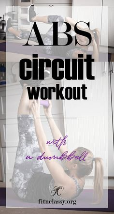 ABS circuit workout (no-gym needed) with Dumbbells | Posted By: CustomWeightLossProgram.com