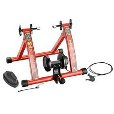 RAD Cycle Products Max Racer 7 Levels of Resistance Portable Bicycle Trainer Work Out Machine $79.95
