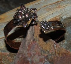 Flower Attraction Copper Bee Cuff with by solagratiadesigns, $46.00