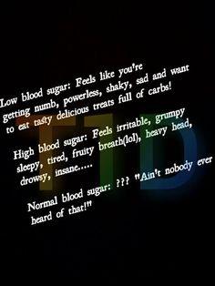 highs & lows ~ www.iamatype1diabetic.com