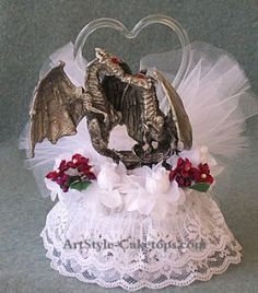 midevil weddings | medieval wedding cake toppers | Affectionately Yours & ArtStyle Cake ...