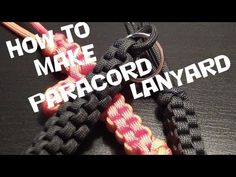 ▶ How to make a paracord lanyard (Box Knot) - TheGhillieBoy - YouTube