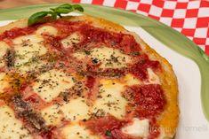 Pizza di patate con mozzarella e pomodoro Mozzarella, Quiche, Breakfast, Blog, Morning Coffee, Quiches, Blogging