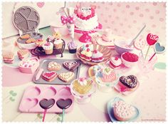 Re-Ment Doll Heart Sweets #2 Cake Pops Mini