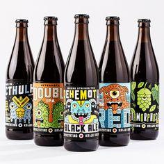 Kaiju Beer #illustration