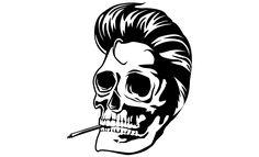 Adobe Illustrator Skull & Wing Vector Pack