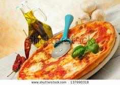 pizza with hot seasoning by Donatella Tandelli, via Shutterstock