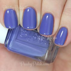Essie Suite Retreat | Resort 2015 Collection | Peachy Polish - wow #blue/purple