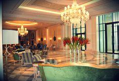 Four Seasons Hotel Baku`s gorgeous lobby  http://www.fourseasons.com/baku/