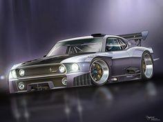 1000hp Mustang GT-R by dangeruss on deviantART