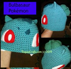 Toqua's Crafts: Bulbasaur (Pokémon) Free Pattern and Tutorial