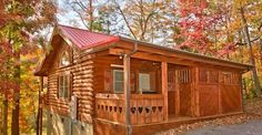 Can you picture yourself in this Quiet Cozy Log Cabin . . Wait until you see the inside!