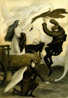 THE WILD SWANS BY ANASTASIA ARKHIPOVA